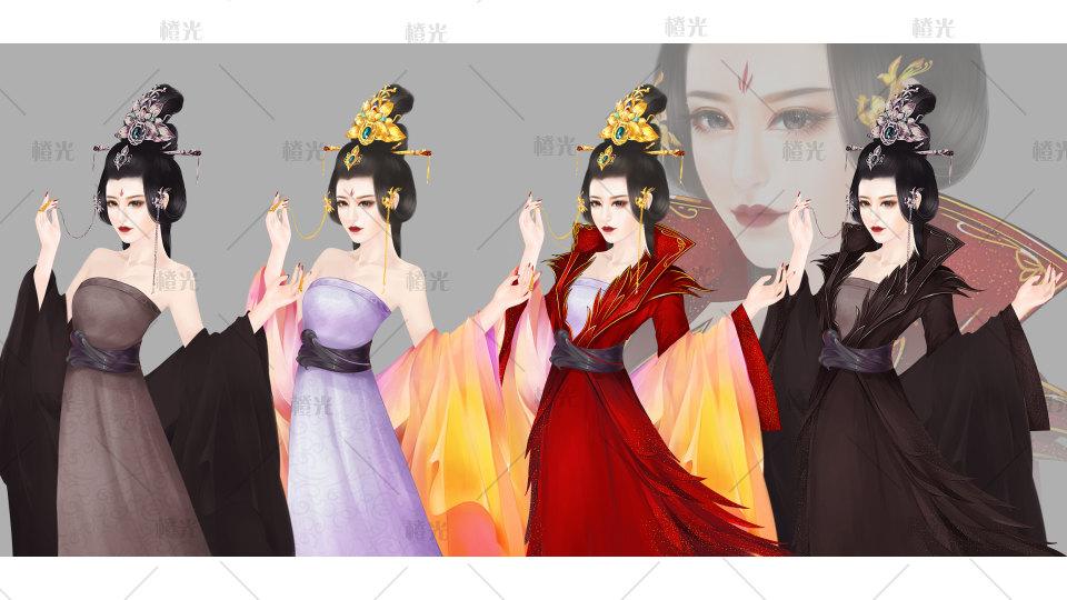 古风女-皇妃详情 - 素材交易平台 - 橙光|66rpg