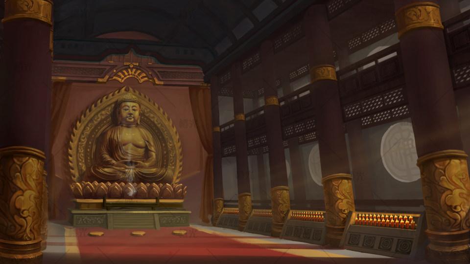 寺庙 室内详情 - 素材交易平台 - 橙光 66rpg