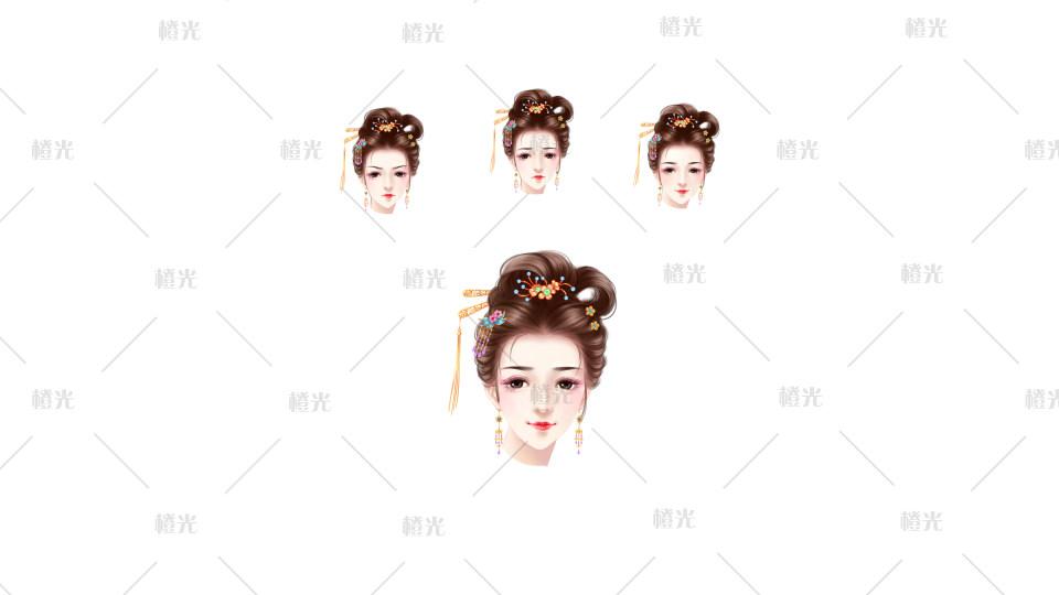 古风小女001详情 - 素材交易平台 - 橙光|66rpg