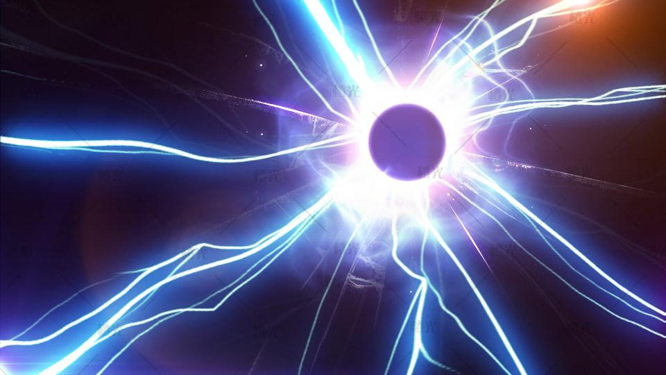 闪电gif素材 透明